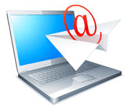 Sending e-mail concept. Royalty Free Stock Image