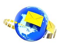 Sending Letters Stock Photos