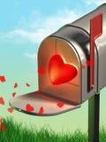 Sending love Stock Images