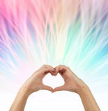 Sending love vibes out Stock Photo
