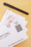 Sending Out Letters Royalty Free Stock Photography