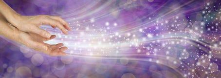 Free Sending You Beautiful Healing Energy Vibes Stock Images - 158661974