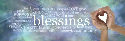 Sending you my heart felt Blessings Word Cloud