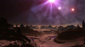 Sendo UFOs brilhado