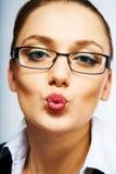 Sends kiss Stock Photos