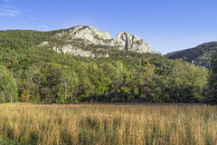 Seneaca Rocks Royalty Free Stock Image