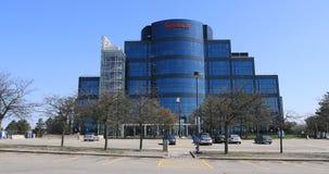 Seneca College Building en Markham, Canadá 4K almacen de metraje de vídeo