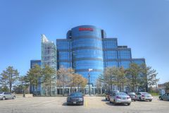 Seneca College Building in Markham, Canada. The Seneca College Building in Markham, Canada Royalty Free Stock Photo