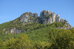 Seneca Rock Royalty Free Stock Images