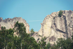 Seneca Rocks i West Virginia Royaltyfri Foto