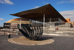 Senedd Building Stock Photo