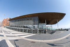 Senedd, Cardiff Bay Stock Images