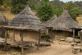 Senegal Andyel Hut. Africa Architecture Royalty Free Stock Photo