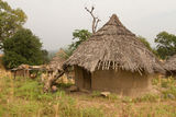 Senegal Andyel Hut. Africa Architecture Stock Photography
