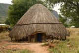 Senegal Dindefelo Hut Royalty Free Stock Image