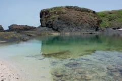 Senegal, eiland DE La Madeleine stock fotografie