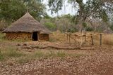 Senegal Ethiolo Hut. Africa Architecture Royalty Free Stock Photography