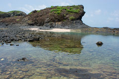 Senegal, isle de la Madeleine Royalty Free Stock Images