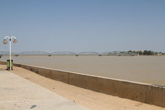 Senegal River in Saint Louis, Africa Stock Photo