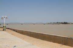 Senegal rzeka w saint louis, Afryka Zdjęcie Stock