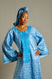 Senegal Woman royalty free stock photo