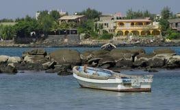 Senegalese coastline Royalty Free Stock Photo