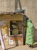Senegalian snel voedsel Royalty-vrije Stock Afbeelding