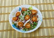 Senegals Black-eyed Pea Salad. Saladu Nebbe - Senegal's Black-eyed Pea Salad Royalty Free Stock Photography