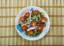 Senegals Black-eyed Pea Salad. Saladu Nebbe - Senegal's Black-eyed Pea Salad Stock Photos