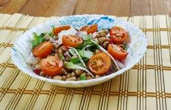 Senegals Black-eyed Pea Salad. Saladu Nebbe - Senegal's Black-eyed Pea Salad Royalty Free Stock Images