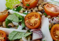 Senegals Black-eyed Pea Salad Royalty Free Stock Photography
