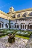 Senenque abbotskloster Fotografering för Bildbyråer
