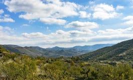 从Senes村庄的看法 图库摄影