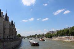 Senes rzeka Zdjęcie Royalty Free