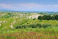 Senesilandschap van Kreta Stock Afbeelding