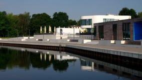 Senftenberg λιμάνι Στοκ φωτογραφία με δικαίωμα ελεύθερης χρήσης