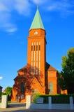 Senftenberg-katholische Kirche Stockfotografie