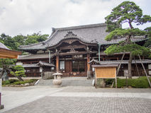 Sengakuji-Tempel, Tokyo, Japan, Gräber von 47 Ronins Lizenzfreies Stockbild