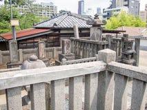 Sengakuji-Tempel, Tokyo, Japan, Gräber von 47 Ronins Lizenzfreie Stockbilder