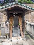 Sengakuji-Tempel, Tokyo, Japan, Gräber von 47 Ronins lizenzfreies stockfoto