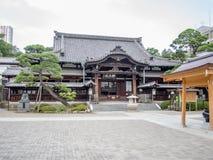 Sengakuji tempel, Tokyo, Japan, gravar av 47 Ronins Arkivbild