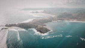 Senggigi海岛,龙目岛,印度尼西亚 图库摄影