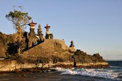 Senggigi hindu temple. Lombok island, Indonesia, Batu Bolong Stock Images