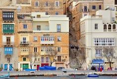 Senglea, Мальта Стоковые Изображения RF