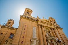 Senglea Isla Basilica, Malta Stock Images