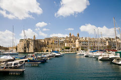Senglea Marina, Malta Stock Images