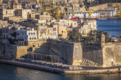 Senglea Point Royalty Free Stock Photos