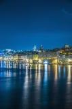 Senglea waterfront in the Grand Harbour, Malta Stock Photography