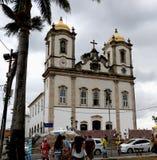 Senhor делает церковь Bonfim в Сальвадоре, Бахи в Бразилии Стоковая Фотография