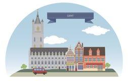 Senhor, Bélgica, ilustração royalty free